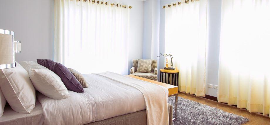 Sypialnia, łóżko, materac